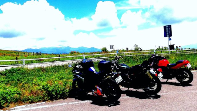 ビーナスラインとバイク